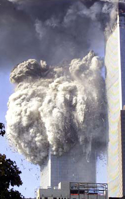 WTC South Tower Falls