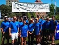 Blue Ridge Relay team Lost Soles