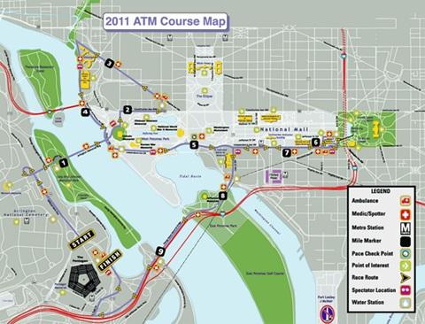 ATM2011 course map