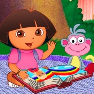 Dora and Boots have a picnic