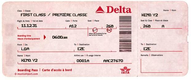 Ticket-O-Matic ticket