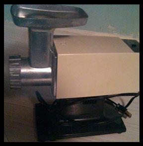 Oster meat grinder