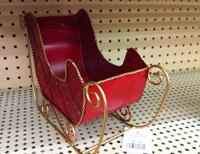 ornamental sleigh