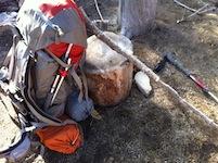 3 trekking poles