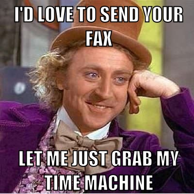 send fax meme