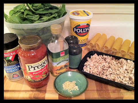 spinach manicotti ingredients