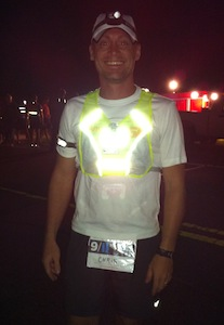 Man in reflective vest