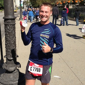 Post-Chicago Marathon photo