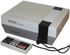 NES game system
