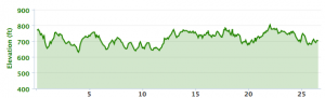 CLT Marathon Elevation