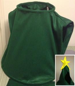 christmas tree costume frame