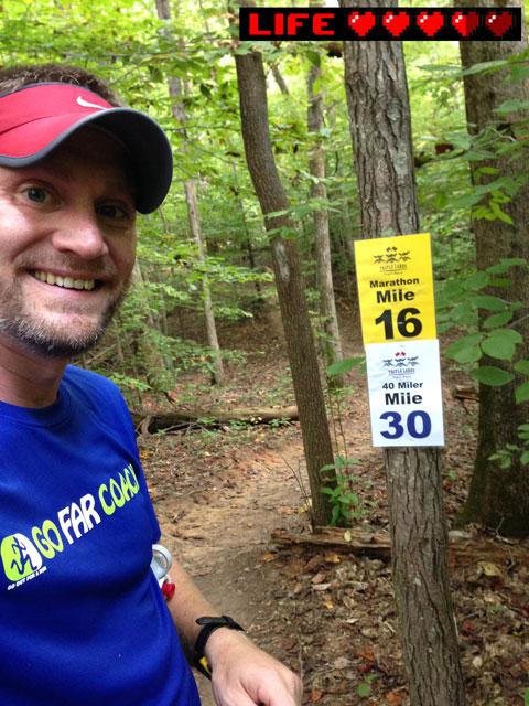 runner at mile 30