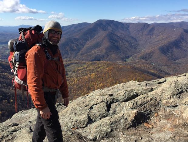 atop three ridges