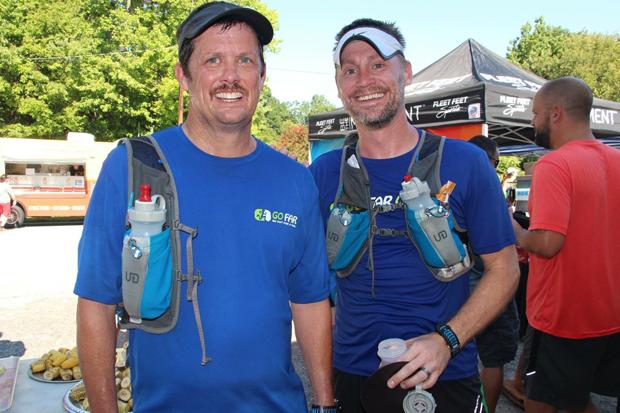 John and I post run. Photo by Fleet Feet GSO