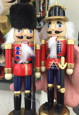 Nutcracker models from Hobby Lobby