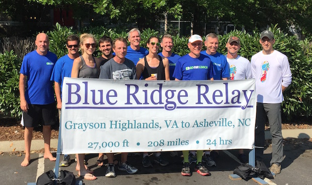 Blue Ridge Relay Team GO FAR 2016