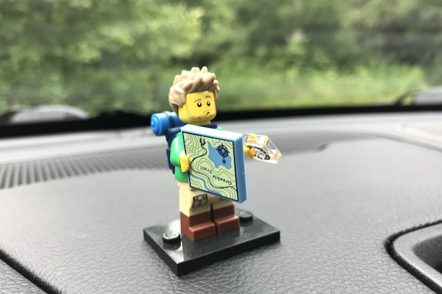 Lego backpacker