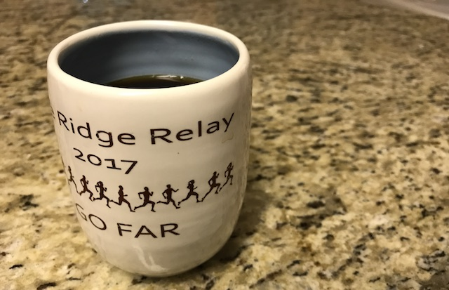 coffee cup on a granite countertop